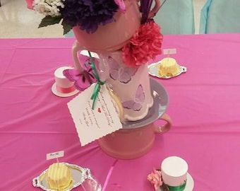"""15"""" Tall Alice in Wonderland Mad Hatter Tea Party CenterPieces!"""