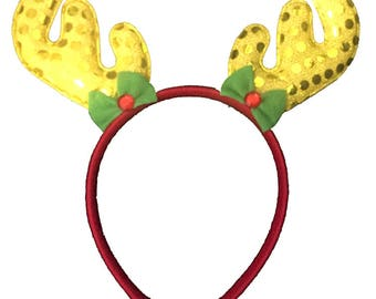 Reindeer Christmas Headband