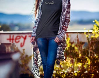 Inspiring t-shirt | Women's t-shirt | Inspirational | tshirts with sayings | Believe | Women's tee | Women's t shirts | Gifts for Her
