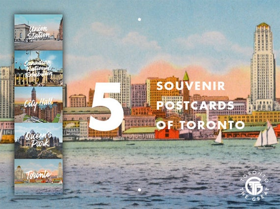 Toronto the Great Colour Postcard Set (5)