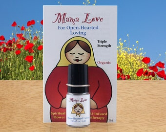 Open-Hearted Loving, Organic Aromatherapy Perfume with Reiki-Infused Flower Essences, Bach Flowers, Opening the Heart, Love, Aphrodisiac
