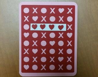 Xoxo - heart version