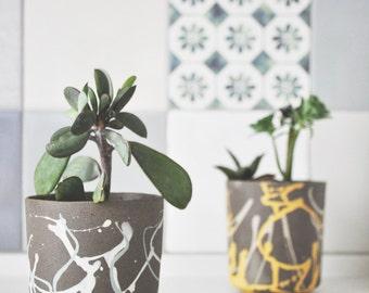 Plant Pot, Cactus Planter, Succulent Planter, Succulent Pot, Pottery, Ceramic Planter, Succulent Pot, Ceramic Vase, Gift Idea, Yahalomis