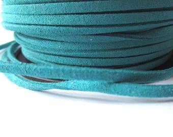 5 m cord - aqua - 3 mm