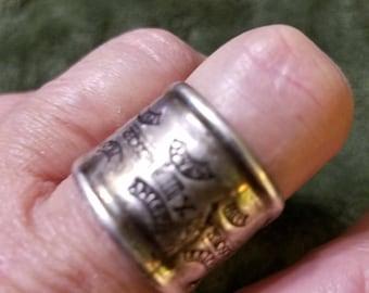 Atocha Treasure Sterling Silver Ring, COA