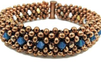 Reversible copper bracelet