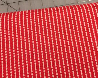 HALF YARD cut of Riley Blake - Sundance - by Sue Daley Designs C5955 in Red -   100% cotton