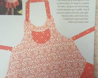 Sassy Little Apron by Cabbage Rose