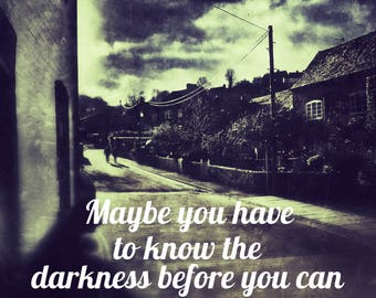 Knowing the Light - Quote