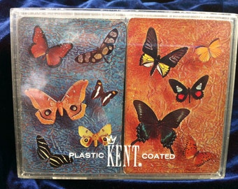 Vintage Kent Playing Cards in original box
