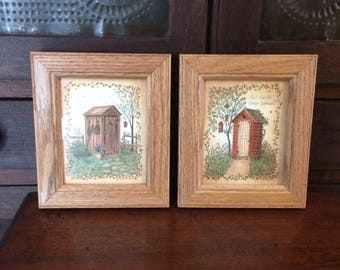 Outhouse collector prints