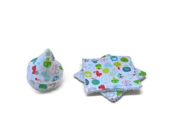 Pee teepees and wipes set