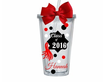 Class of 2017  Graduation Tumbler, Personalized