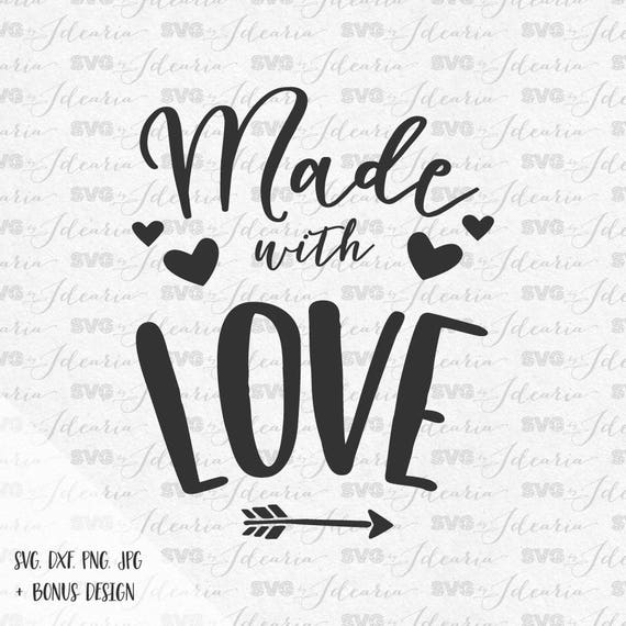 Download Made with love svg valentine svg sayings svg quotes