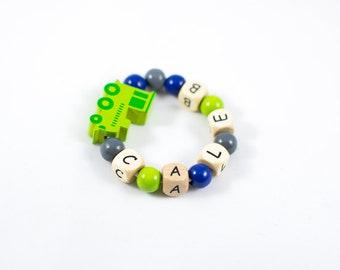Bracelet for Boy - Personalized Boy Bracelet - Toddler Boy Bracelet - Personalized Boy Gift - Children Bracelet - Custom Bracelet