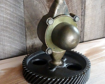 Handcrafted Industrial Steampunk Lamp