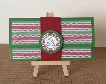 Handmade Gift Card Holder/Money Holder for Christmas.