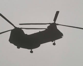 CH46 Starboard Decal