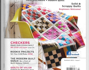 Quilty Magazine by Fons and Porter - Summer 2012