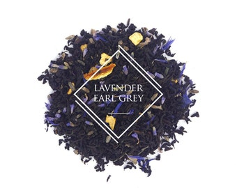 Lavender Earl Grey tea, Lady Grey, Loose Leaf Tea, Black Tea