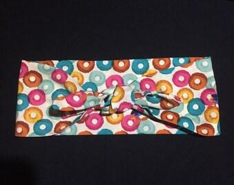 SALE* Vintage Pinup inspired headscarf -  Fruit Loop print