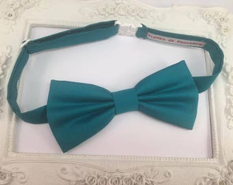 Baby bow tie blue turquoise