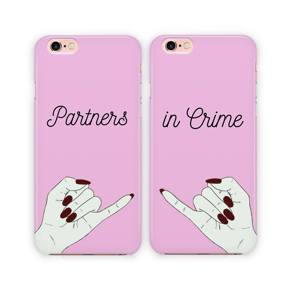 best friend iphone cases partners in crime phone best friends for 9118