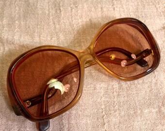 OG Designer Series Marbelized Tortoise Vintage 70's 80's Style Eyeglasses Sunglasses Glasses Frames