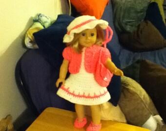 """Lovely Spring Dress for a 18"""" doll"""