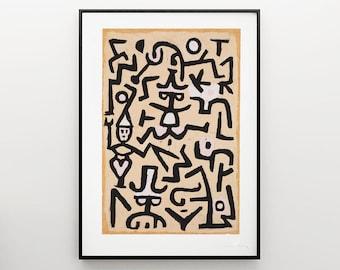 Paul Klee - Modern art - Art & Collectibles - Wall art - Home Decor
