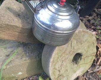 revere ware tea pot tinned copper