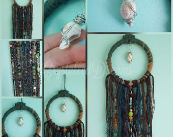 Seashell Gorgeous Bohemian Styled Beaded DreamCatcher