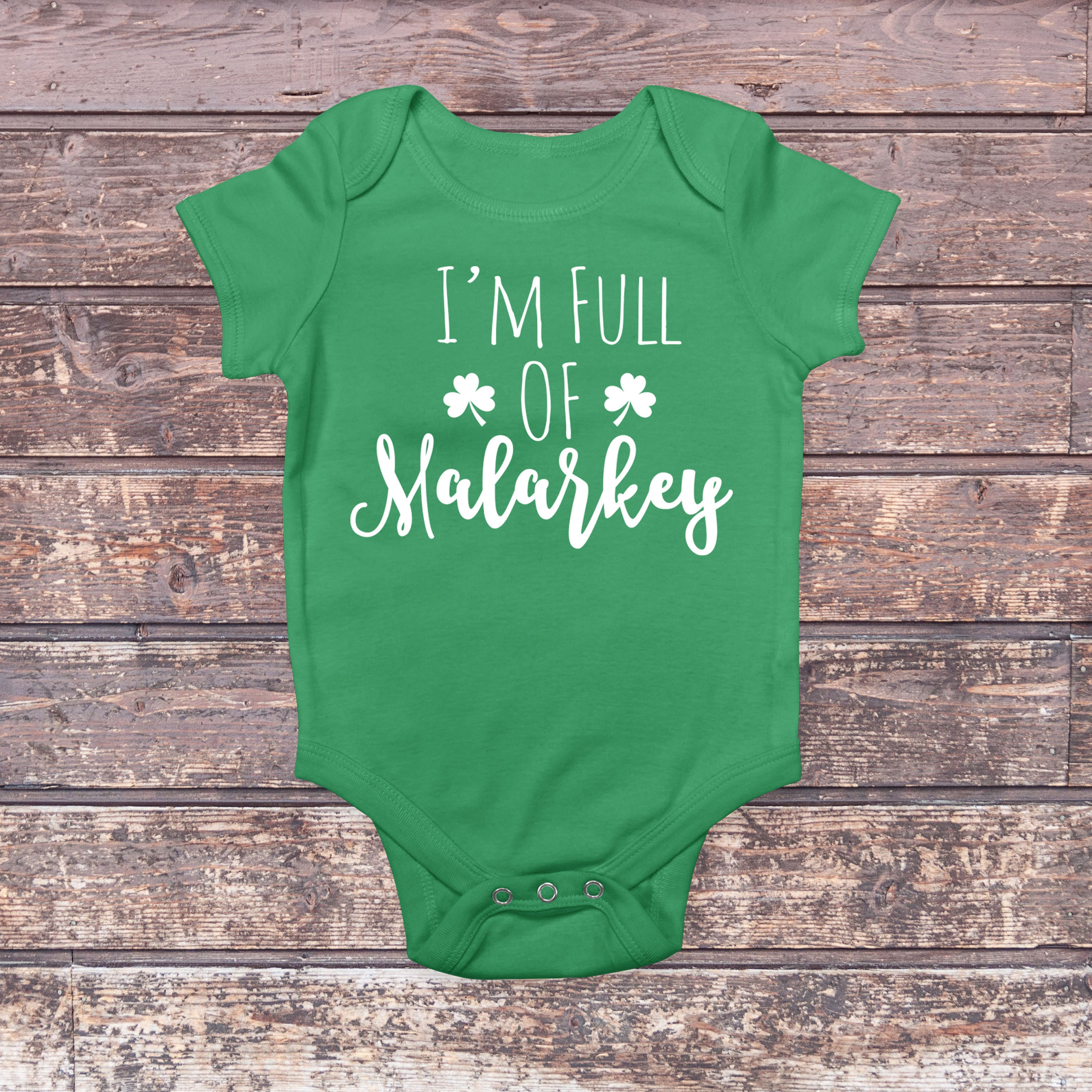 First St Patrick s Day Baby s First Shamrock Top Baby Girl Clothes