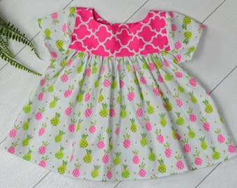 Pineapple Tunic Size 2t