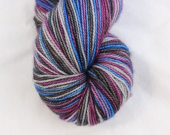 Darkle on Desmos Sock Hand Dyed Yarn