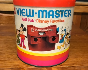 Vintage 1976 Red Top View-Master with 20+ slides