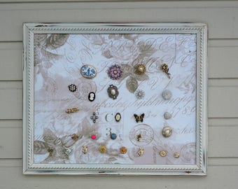 Magnets made from vintage jewelry, super glamorous sparkly brooches with magnetic backs, will not damage clothing, photo display