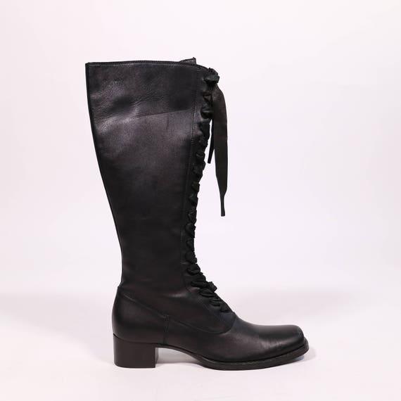 MIU boots MIU Leather boots MIU MIU boots Leather MIU MIU Leather wRHI7qOxd