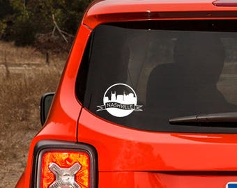 Nashville Vinyl Decal