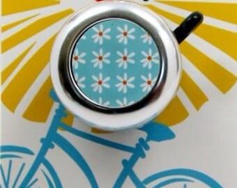 Blue Daisy Bike Bell