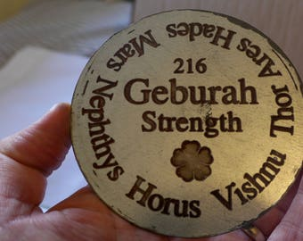Mars - Geburah - Gevurah - Strength
