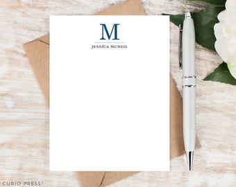 Personalized Monogram Stationery / Professional Stationary / Personalized Note Cards / Personalized Stationery // TRADITIONAL MONOGRAM