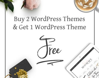 Buy 2 WordPress Themes - Get 1 WordPress Theme for Free