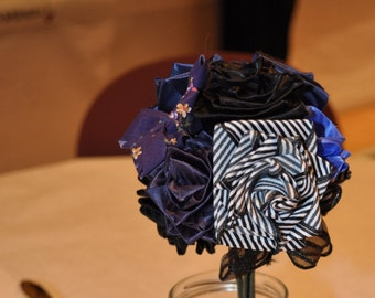 Ribbon Rose Bouquet - Small