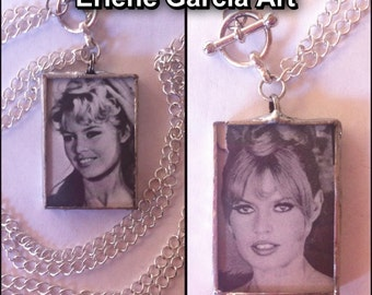 SALE! Necklace *Bridget Bardot Soldered