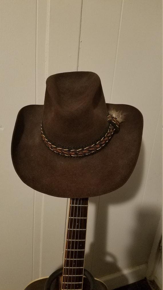 VTG Resistol Stagecoach Cowboy Hat 6b1be6a741f3