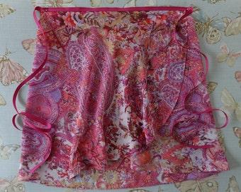 Amanda - Adult Small Chiffon Ballet Wrap Skirt UK 8-12