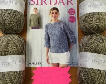 Sirdar Dapple Pattern and Yarn