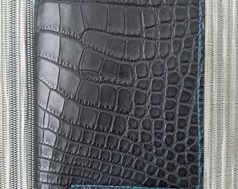 Custom Alligator Bi Fold Wallet