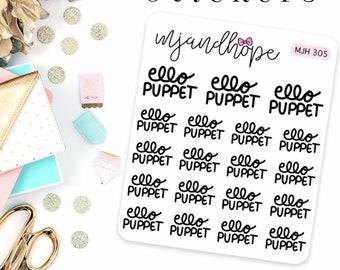 Ello Puppet Stickers